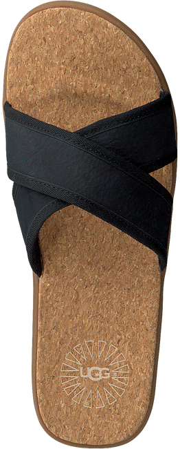 Zwarte UGG Slippers SEASIDE SLIDE  - large