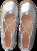 Zilveren UNISA Ballerina's SEIMY  - small