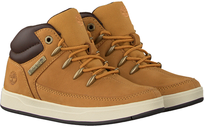 TIMBERLAND Baskets DAVIS SQUARE EUROSPRINT KIDS en camel  - large