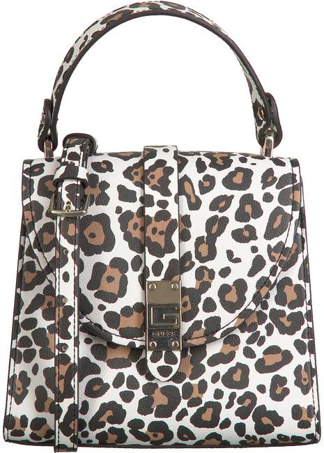 GUESS Sac à main NEREA TOP HANDLE FLAP en multicolore  - large