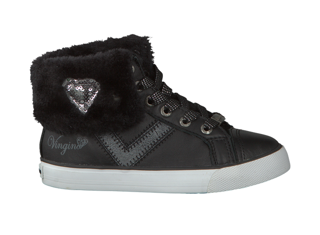 Zwarte VINGINO Sneakers ANOUK MID  - large