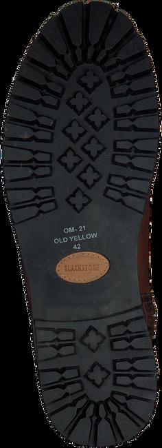 BLACKSTONE Bottes hautes OM21 en cognac - large