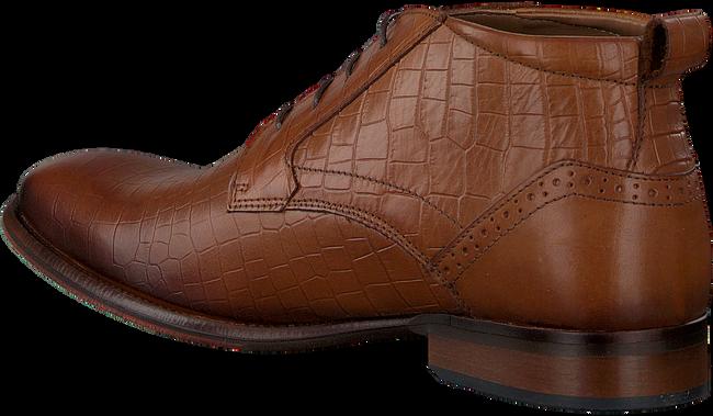 MAZZELTOV Chaussures à lacets MREVINTAGE603.02OMO en cognac  - large