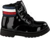 Zwarte TOMMY HILFIGER Veterboots LACE UP BOOTIE  - small