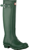 HUNTER Bottes en caoutchouc WOMENS ORIGINAL TALL en vert - small