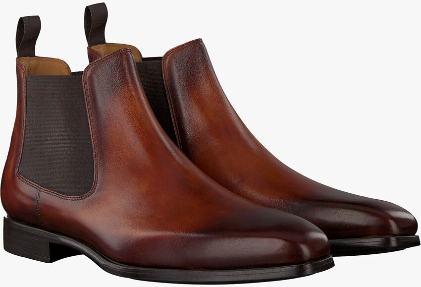Bruine MAGNANNI Chelsea boots 20109 - larger