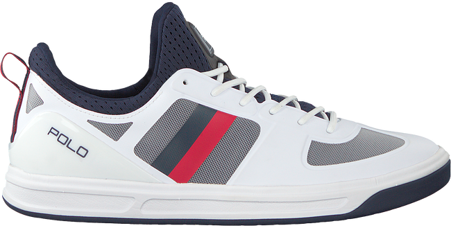 POLO RALPH LAUREN Baskets COURT200 en blanc - large