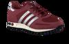 red ADIDAS shoe LA TRAINER  - small