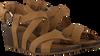 TEVA Sandales W MAHONIA WEDGE CROSS en camel  - small