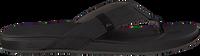 Zwarte REEF Slippers CUSHION BOUNCE PHANTOM  - medium