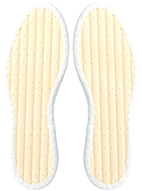 PEDAG Semelles 31960100 en blanc - large