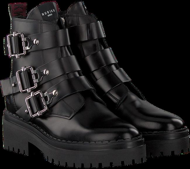 NUBIKK Biker boots FAE BUCKLE en noir  - large