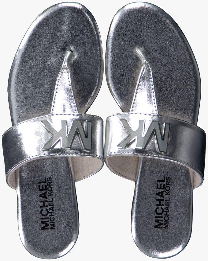 Zilveren MICHAEL KORS Slippers D.BECCA  - larger