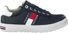 Blauwe TOMMY HILFIGER Lage sneakers LOW CUT LACE-UP SNEAKER - small