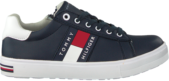 Blauwe TOMMY HILFIGER Lage sneakers LOW CUT LACE-UP SNEAKER - large