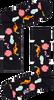 HAPPY SOCKS Chaussettes PARK TURKOS SOCK en blanc  - small