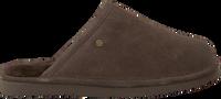 Bruine WARMBAT Pantoffels KEITH  - medium