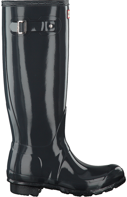 HUNTER Bottes en caoutchouc WOMENS ORIGINAL TALL en gris - large
