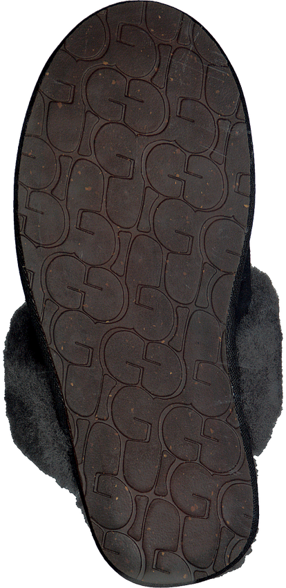 Zwarte UGG Pantoffels W SCUFFETTE II - larger