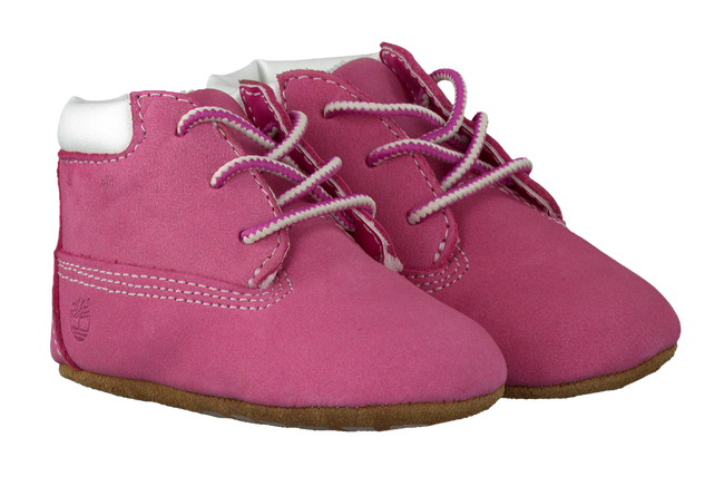 TIMBERLAND Chaussures bébé CRIB BOOTIE W/HAT en rose - large