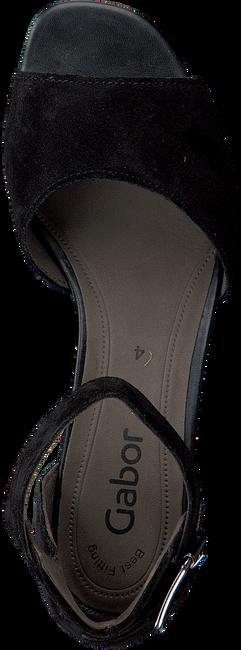 GABOR Sandales 723 en noir - large