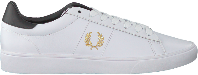 FRED PERRY Baskets basses B8255 en blanc  - large