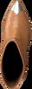 Cognac LOLA CRUZ Enkellaarsjes 059T45BK  - small