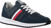 TOMMY HILFIGER Baskets basses MODERN CORPORATE RUNNER en bleu  - small