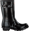 HUNTER Bottes en caoutchouc WOMENS ORIGINAL SHORT en noir - small