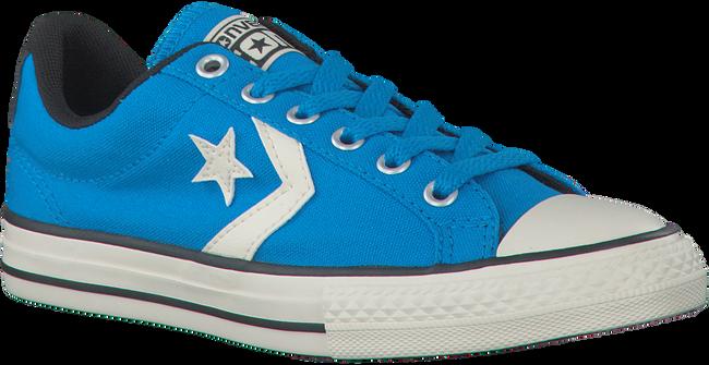 CONVERSE Baskets STAR PLAYER OX KIDS en bleu - large