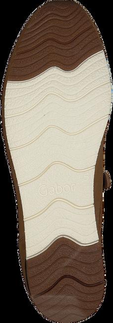 GABOR Baskets basses 431 en cognac  - large
