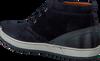 VAN LIER Chaussures à lacets 7287 en bleu - small