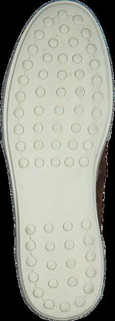MAZZELTOV Chaussures à enfiler 51127 en cognac  - large