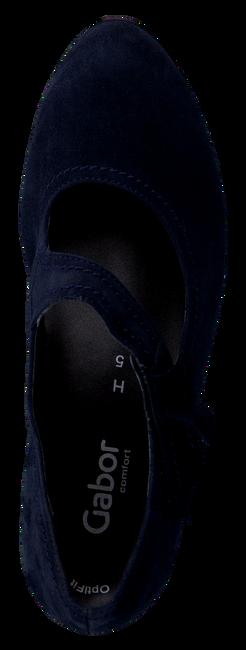 GABOR Escarpins 147 en bleu - large