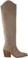 Taupe VIA VAI Lange laarzen BLAKE ALLURE - medium