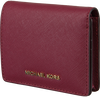 MICHAEL KORS Porte-monnaie FLAP CARD HOLDER en rouge - small