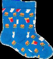 HAPPY SOCKS Chaussettes HAMBURGER KIDS - medium