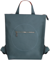 Blauwe MYOMY Rugtas MY CIRCLE BAG  - medium