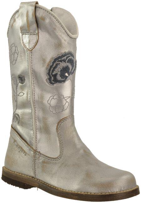 Zilveren KANJERS Lange laarzen 2883  - large