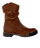 GATTINO Bottes hautes G1004 en marron - small