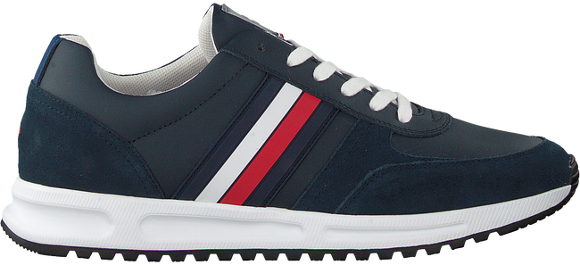 TOMMY HILFIGER Baskets basses MODERN CORPORATE RUNNER en bleu  - large