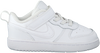 Witte NIKE Lage sneakers COURT BOROUGH LOW 2 (TDV)  - small