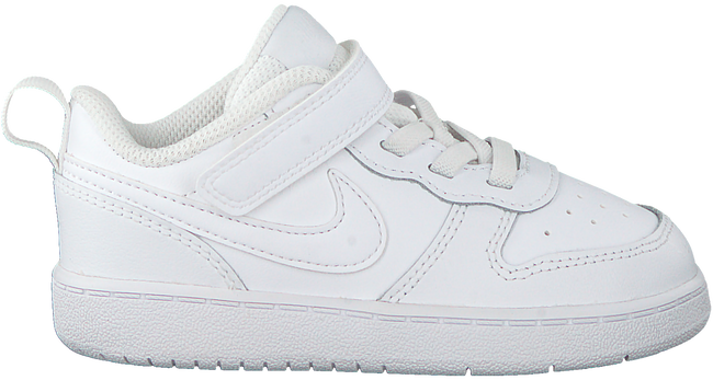 Witte NIKE Lage sneakers COURT BOROUGH LOW 2 (TDV)  - large