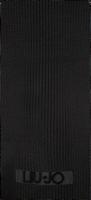 Zwarte LIU JO Sjaal SCIARPA LOGO PUNTO TAPPETO  - medium
