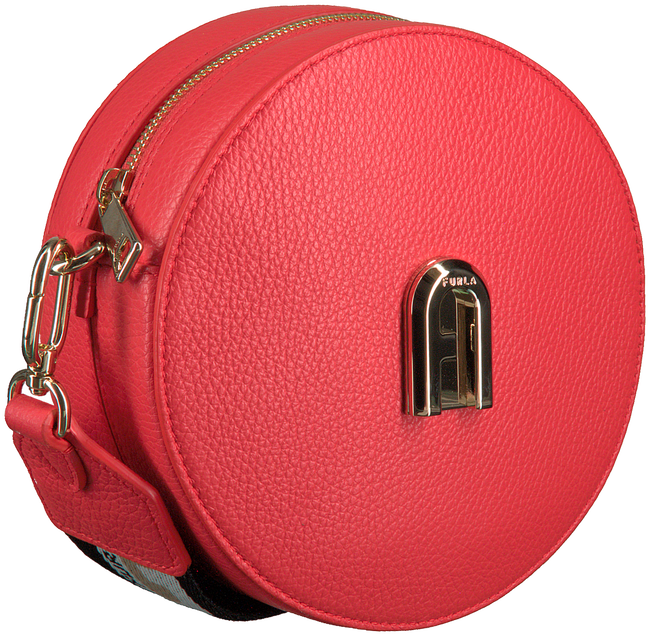 FURLA Sac bandoulière SLEEK MINI C/BODY ROUND en rouge  - large