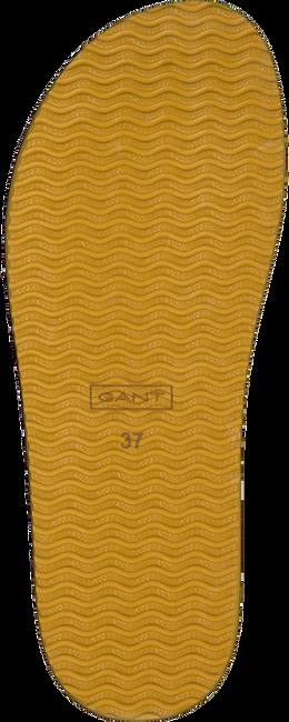 Cognac GANT Teenslippers FLATVILLE  - large