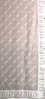 Bruine GUESS Sjaal CATHLEEN JACQUARD SCARF  - medium