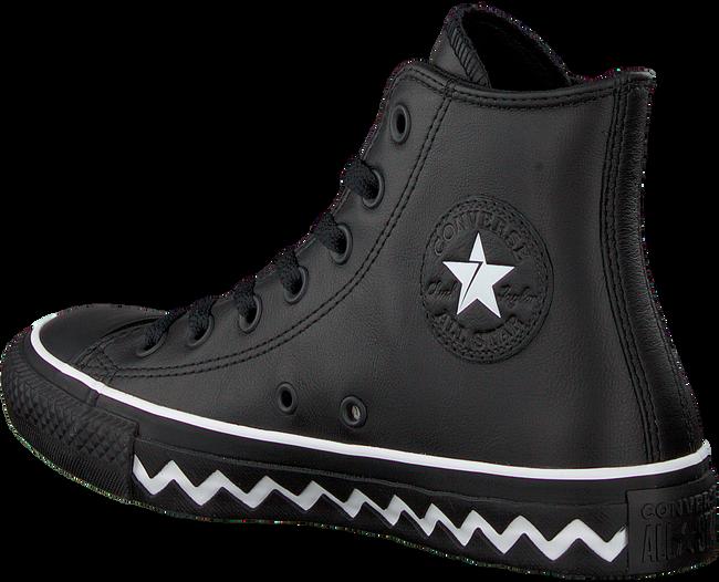 CONVERSE Baskets CHUCK TAYLOR ALL STAR HI DAMES en noir  - large