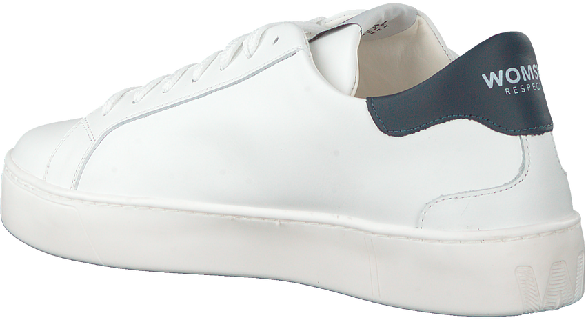 Witte WOMSH Lage sneakers SNIK  - larger