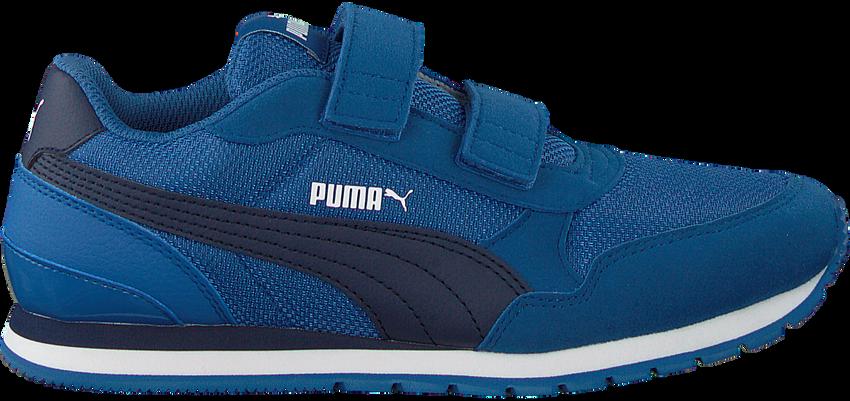 PUMA Baskets basses ST RUNNER V2 MESH J en bleu  - larger